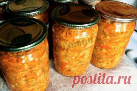 Салат Бакат из баклажан на зиму рецепт с фото и видео - 1000.menu