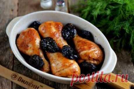 Курица с черносливом в духовке — изысканно и вкусно!