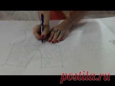 Люневильская вышивка, как рисовать узоры. Виктория Бойко