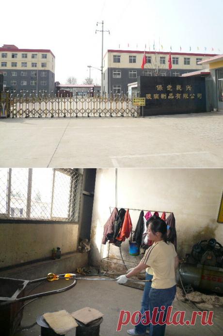 🎁 Посетила фабрику в Китае. Узнала как на самом деле делают стеклянные вазы (15 фото) | 🎁 СУПЕР ПОДАРОК 🎁 | Яндекс Дзен