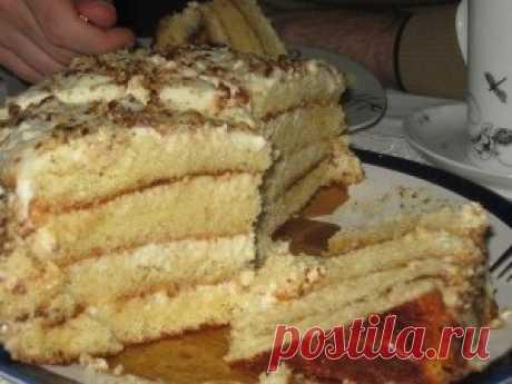 Самый простой и самый нежный, очень вкусный тортик   Тут еда и лучшие рецепты