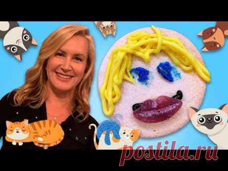 """Angela Kinsey of """"The Office"""" on Cats and Cookies   Treat Yourself   Allrecipes.com"""