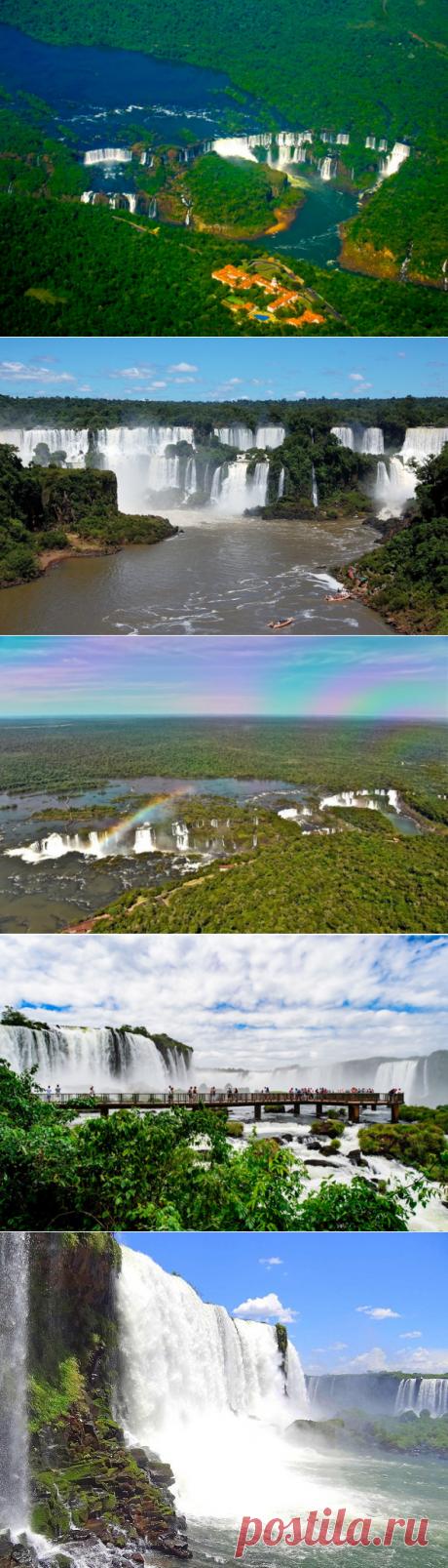 Las cascadas de Iguasu