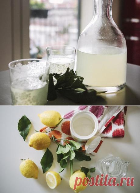 Как в Италии лимонад делают   ИТАЛЬЯНСКАЯ КУХНЯ