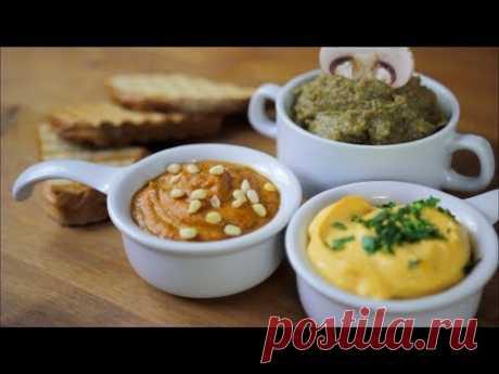 ПАШТЕТЫ | 3 вида | рецепт бутерброда