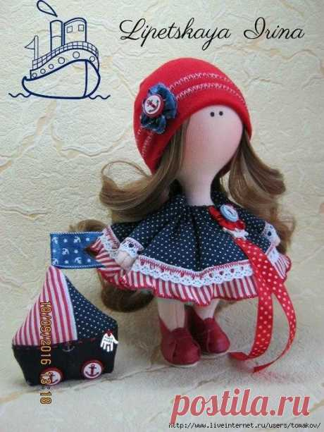 Куклы Ирины Липецкой с выкройками