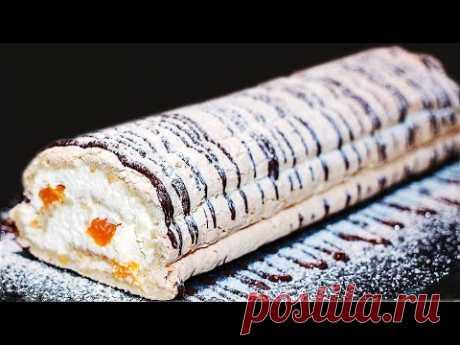 Самый Быстрый Торт на Праздник. Меренговый Рулет Будапешт. Ирина Кукинг - YouTube
