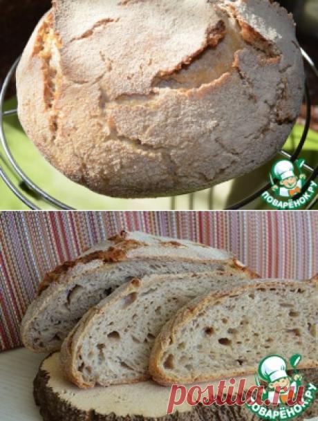 Хлеб гречнево-пшеничный - кулинарный рецепт