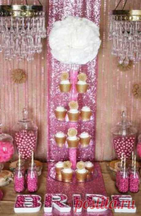 Rustic Glam Bridal Shower Ideas | Party Ideas And Planning | CraftGossip.com