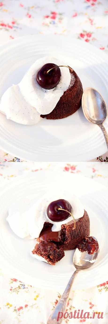 Шоколадный кулан (coulant au chocolatet au café) по мотивам рецепта Мишеля Браса • Elaizik