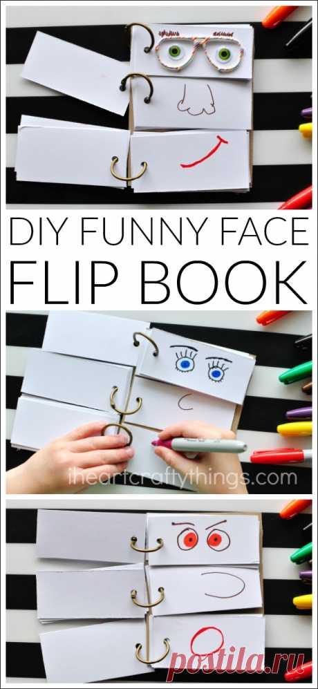 Флипбук своими руками: делаем смешные лица