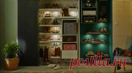 Как хранить 40 пар обуви в небольшой квартире. 5 крутых идеи