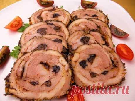 Лучшая мясная закуска на Новогодний стол / Мясной рулет из двух видов мяса - лучше колбасы!