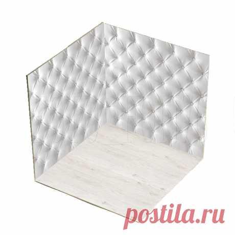 Пластиковый фотобокс для предметной сьёмки Размер:50х50х50 см