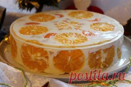 Фруктово-желейный торт — Кулинария для всех