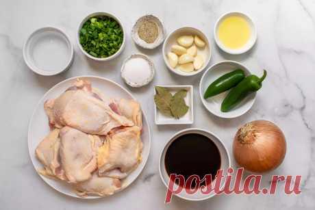 Instant Pot Chicken Adobo Recipe