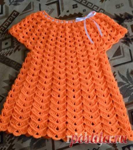 Летние платье «Зефир» » Ниткой - вязаные вещи для вашего дома, вязание крючком, вязание спицами, схемы вязания