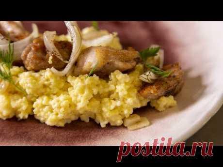 Как вкусно приготовить пшенную кашу и ужин с куриными ножками.