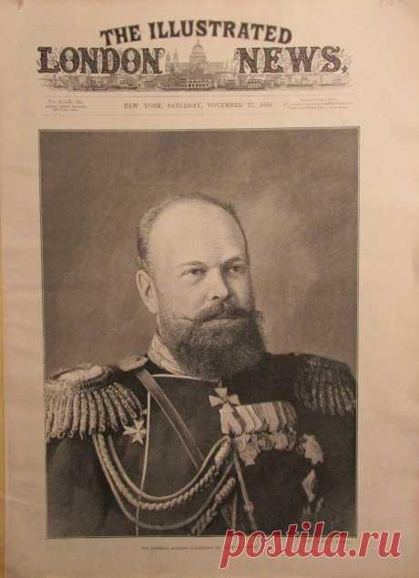 1894.11.17 - The Illustrated London News (New York) | Sovetika.ru - обложки старых журналов