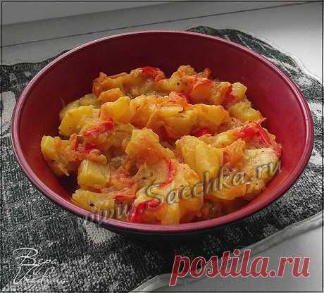 Овощное сотэ - рецепт с фото Овощное соте приготовлено с кабачками в мультиварке.