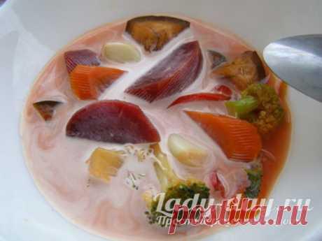 Вкуснейший и простейший суп для тех, кто худеет - Скатерть-Самобранка - медиаплатформа МирТесен