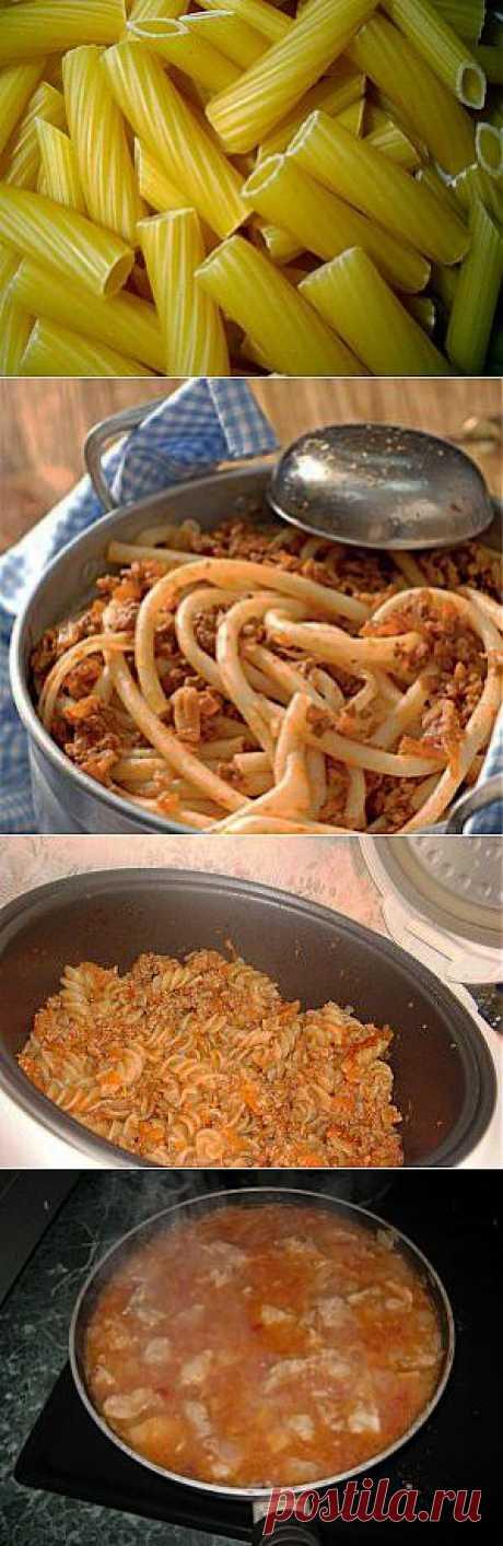 Как варить макароны по флотски, рецепты приготовления в мультиварке