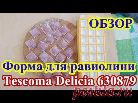 Форма для квадратных равиолини 21 шт Tescoma Delicia 630879