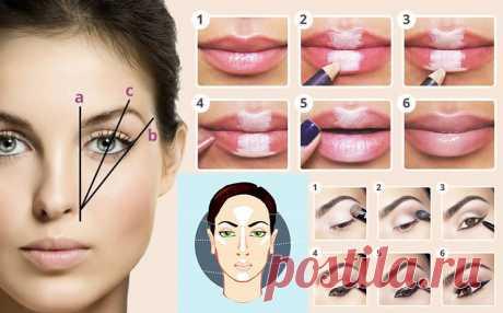 Самый полный и крутой гид по макияжу: сохрани себе и разошли подругам! - Женские советы
