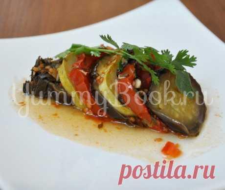 Рататуй - пошаговый рецепт с фото