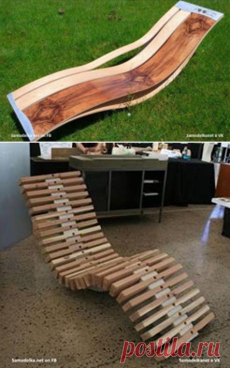 Три способа сделать удобный лежак для отдыха, вам какой по душе?
