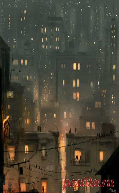 It s a hot night and I can t sleep. by PascalCampion on DeviantArt