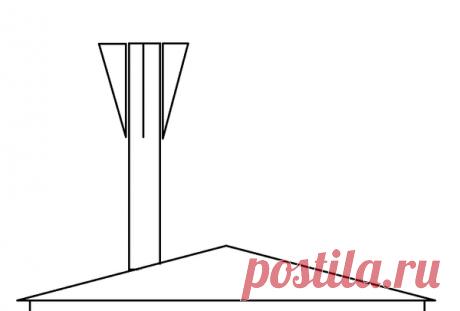 Необычное решение, увеличивающее тягу дымохода в несколько раз | Хитрости и лайфхаки | Яндекс Дзен