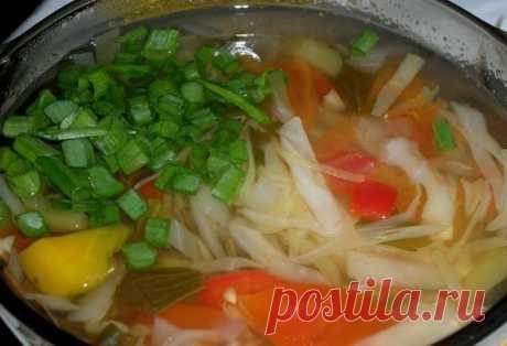 Боннский суп который очистит организм очень быстро! Вес тает, и есть совсем не хочется …. | Краше Всех