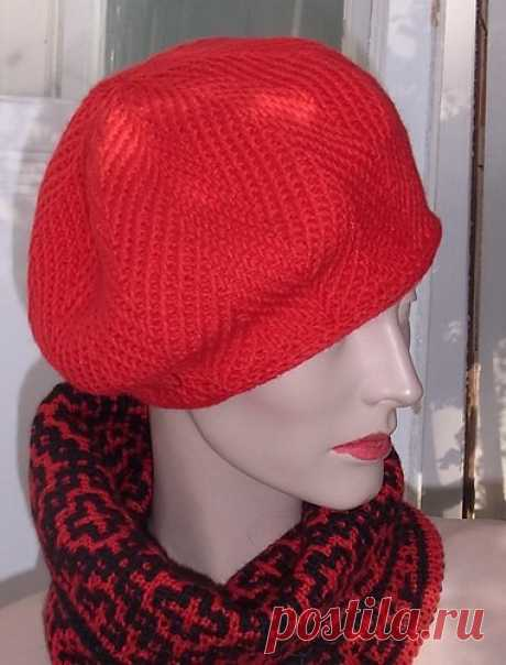 Winter beret spokes
