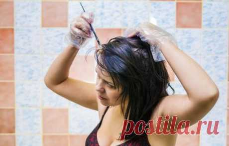 Окрашивание волос в домашних условиях: как не испортить прическу (видео). Лучшие средства для окрашивания волос в домашних условиях . Милая Я
