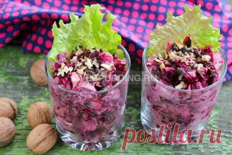 Салат с курицей и свеклой - рецепт с фото | Как приготовить на Webpudding.ru