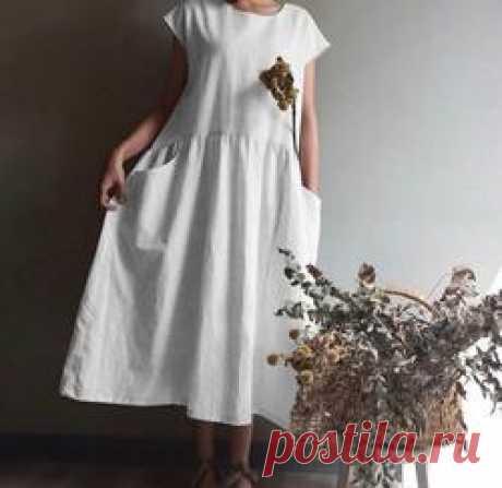 Women Short Sleeve Casual Dresses – petalrise