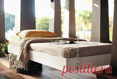 Как сделать подвесную кровать? Мастер-класс по изготовлению кровати