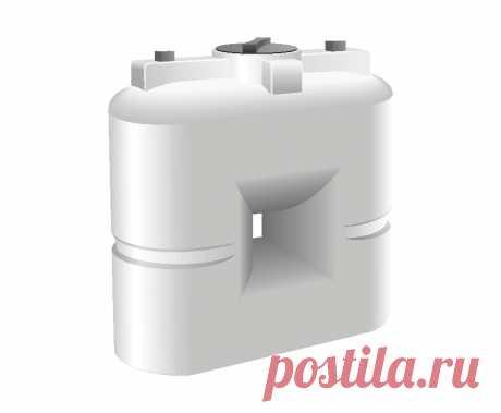 Узкая пластиковая емкость для воды емкость СЛИМ :: ЕЗПИ