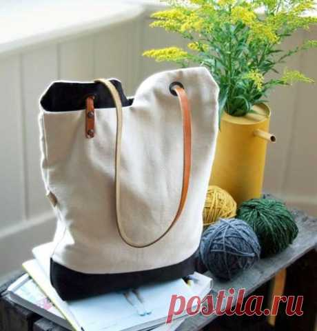 Стильная сумка своими руками | Краше Всех