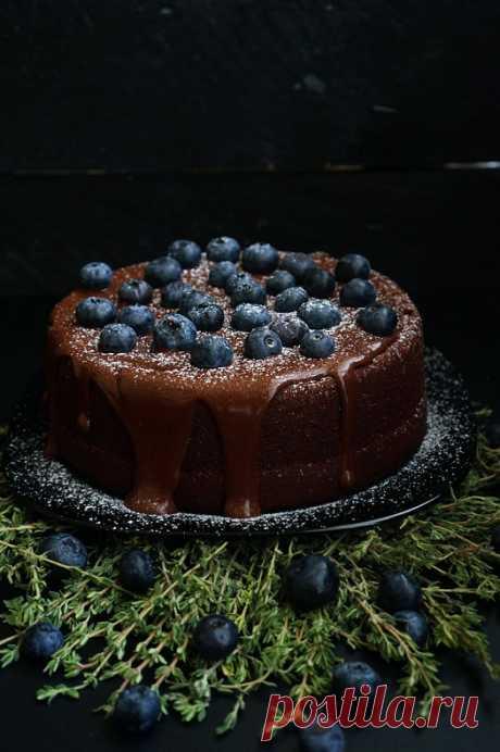 Шоколадный торт на раз, два, три | Andy Chef (Энди Шеф)