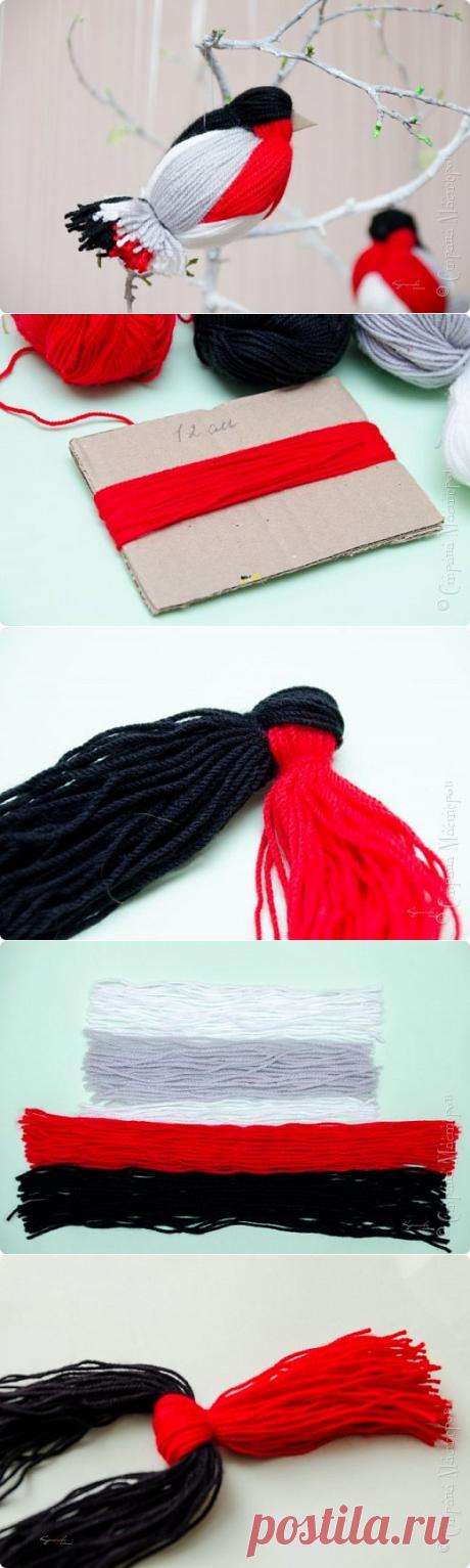 Правдоподобный снегирь легким движением руки — Сделай сам, идеи для творчества - DIY Ideas