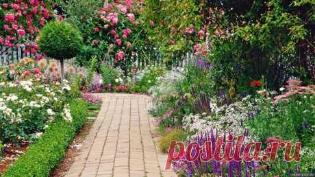 Как самому сделать садовую дорожку