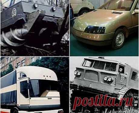 Авто Самые необыкновенные автомобили СССР - свежие новости Украины и мира