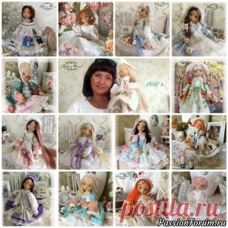 Коллекционные текстильные куклы. - запись пользователя Елена (Елена) в сообществе Болталка в категории Наши коллекции