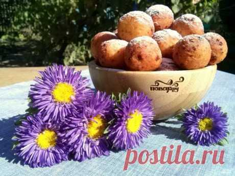 Donuts from cottage cheese - the step-by-step recipe from a photo on Повар.ру