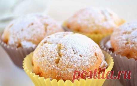 Творожные кексы: нежные и мягкие. Готовить проще простого! Всем рекомендую!
