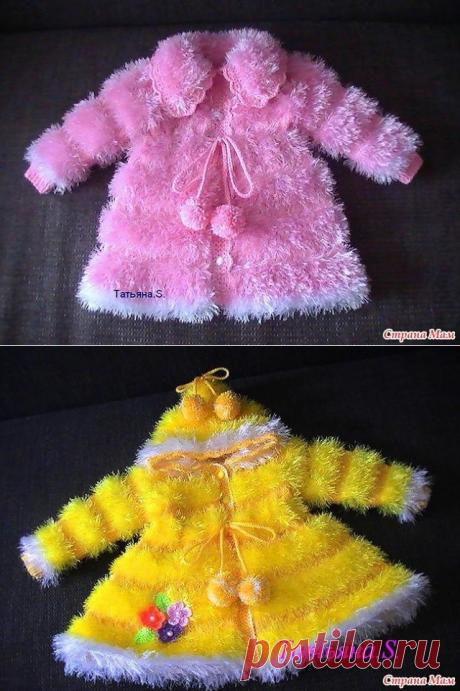 Это потрясающее пальто для малышки завораживает своей красотой (Вязание спицами) – Журнал Вдохновение Рукодельницы
