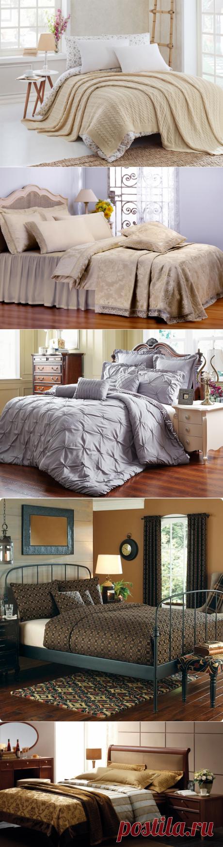 Как красиво заправить кровать.Взять на заметку!