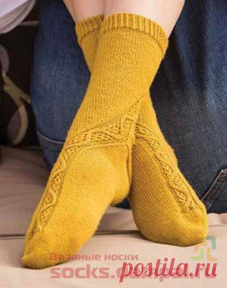 Вязаные носки «Drumore» | ВЯЗАНЫЕ НОСКИ